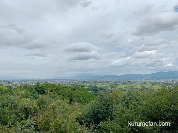 みのう山荘 露天付き家族風呂からの絶景の景色