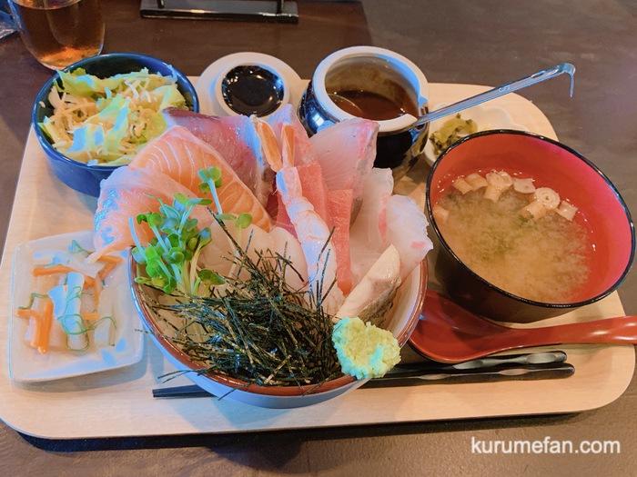 OSAKANA DINING OBANA 合川店 はみ出し海鮮丼
