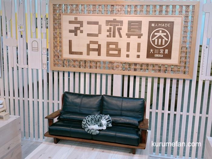 大川木工まつり 大川産業会館 ネコ家具LAB!!