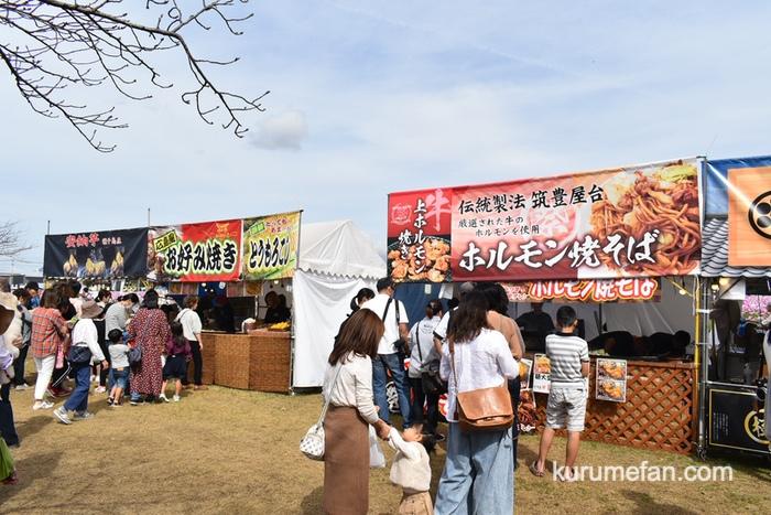 キリンビール福岡工場 コスモスフェスタ2019 フードエリア