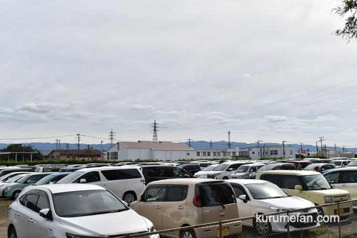 キリンビール福岡工場 コスモスフェスタ2019 駐車場