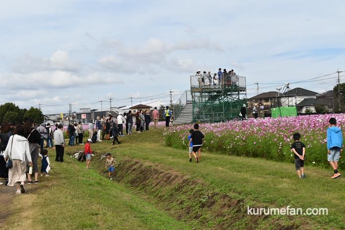 キリンビール福岡工場 コスモスパノラマ展望台