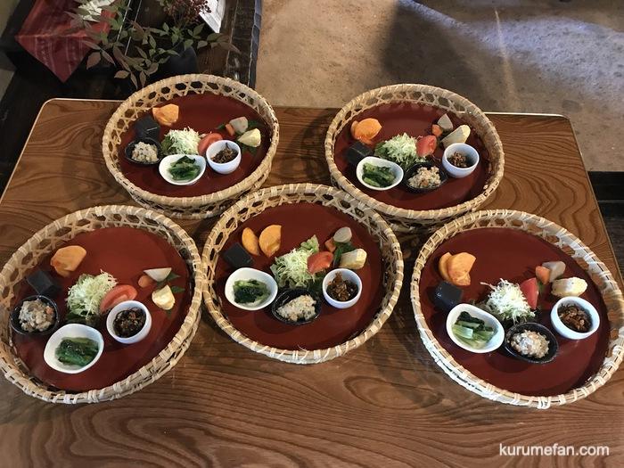水縄茶寮(みのうさりょう)料理