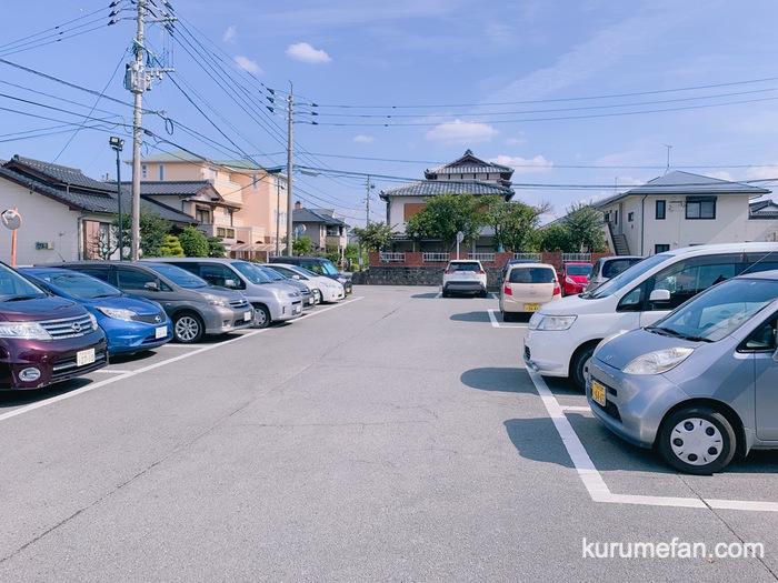正八郎うどん 駐車場