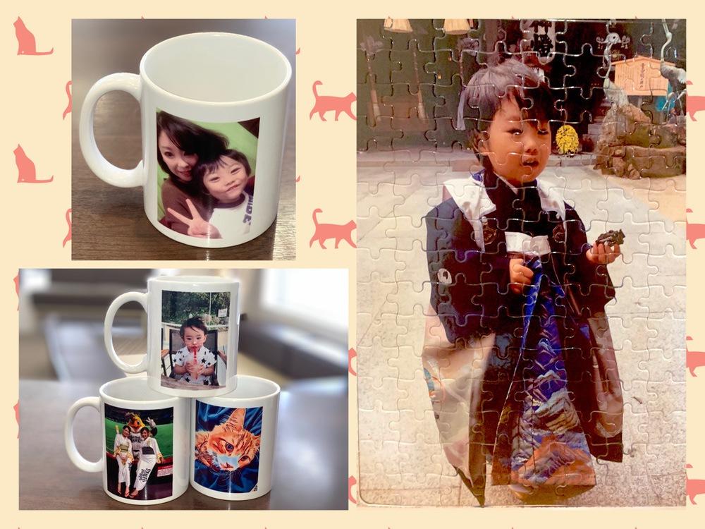 大切な写真をカタチに!オリジナルマグカップ、ジグソーパズルプレゼント【参加無料】