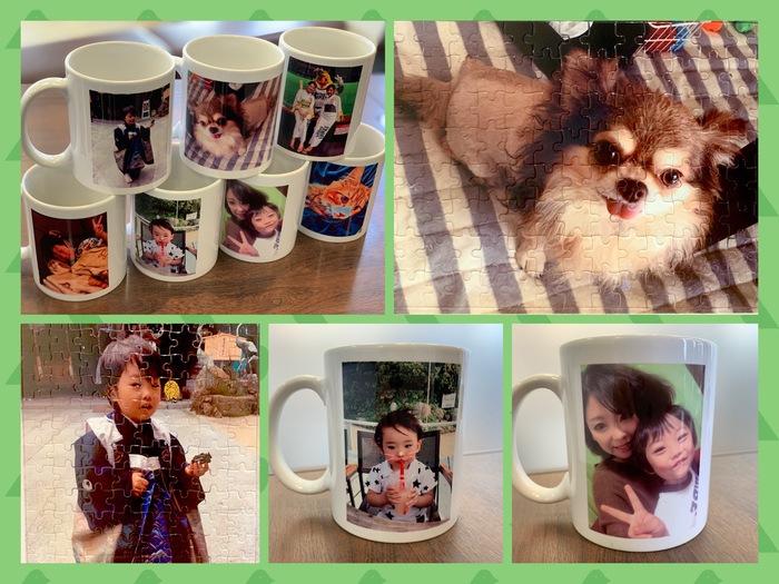 思い出の写真をカタチに!オリジナルマグカップ、ジグソーパズルプレゼント【参加無料】