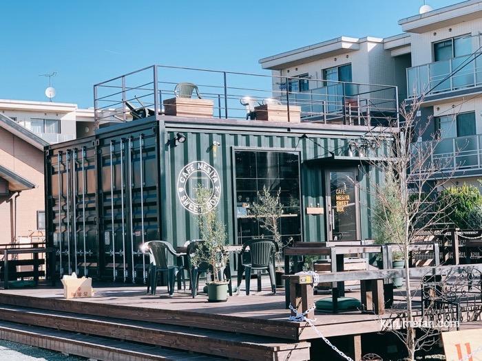 CAFE MESIYA SWEET BOX(カフェメシ家 スイートボックス)コンテナの店舗