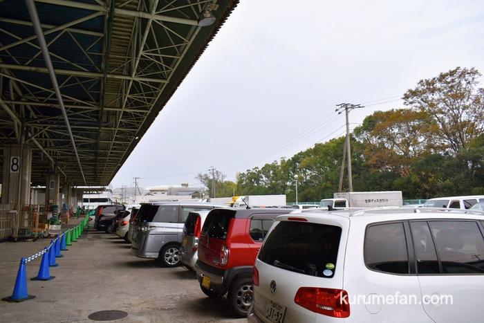 久留米市 市場祭り 久留米市中央卸売市場・駐車場