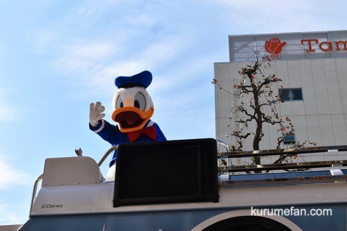 佐賀市 東京ディズニーリゾート・スペシャルパレード ドナルド