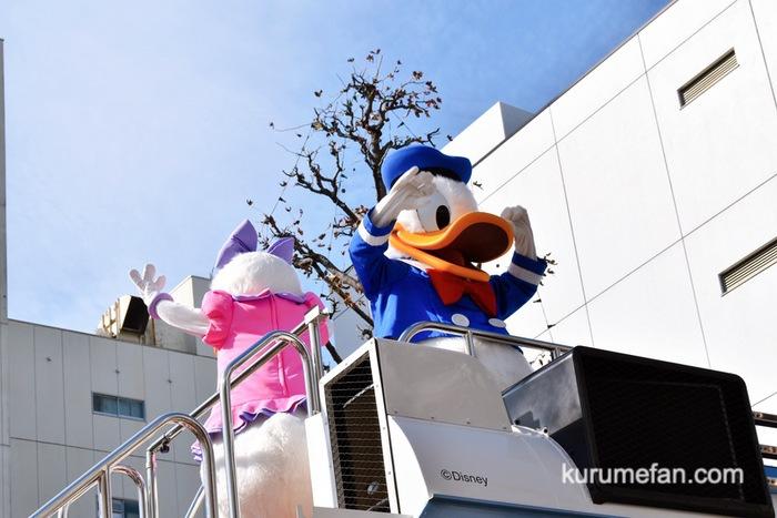 佐賀市 東京ディズニーリゾート・スペシャルパレード ドナルドとデイジー