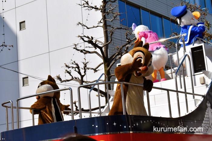 佐賀市 東京ディズニーリゾート・スペシャルパレード チップとデール