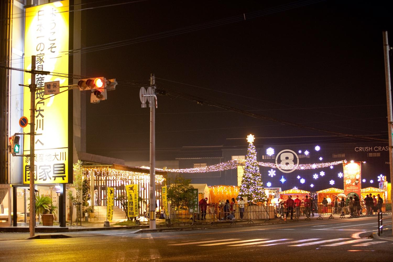 クリスマスマーケットin 大川