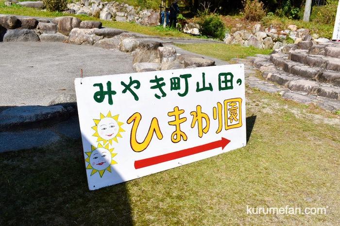みやき町 山田ひまわり園までの順路
