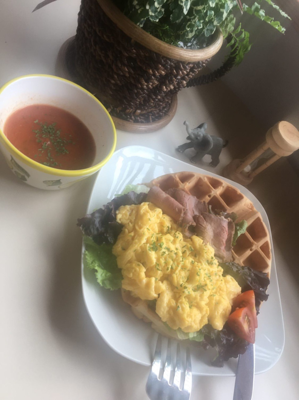 zenzo cafe久留米店 料理
