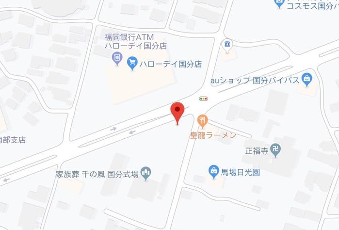 十段家(ジュウダンヤ)店舗場所 地図