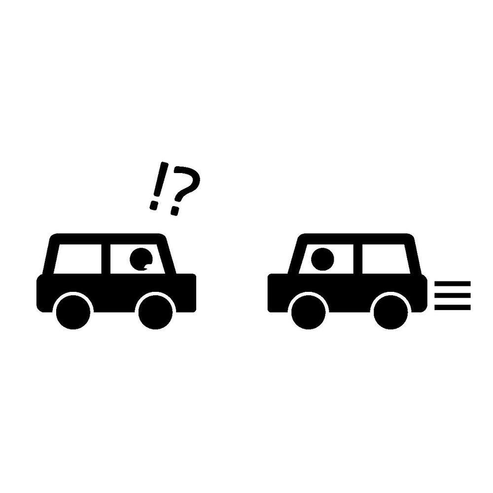久留米市で県道を軽乗用車が約700メートル逆走 来る車の中をかき分けて進む