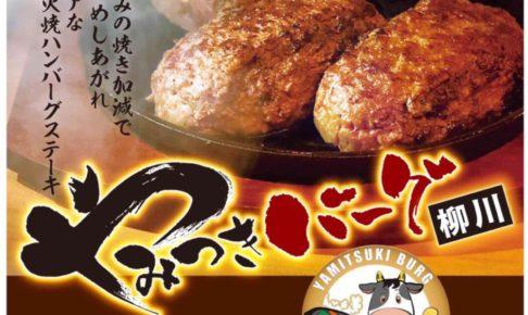 やみつきバーグ柳川 ハンバーグのお店が柳川市にオープン【新店情報】