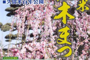 第15回 久留米植木まつり 植木苗木の業者が百年公園に大集合 展示即売