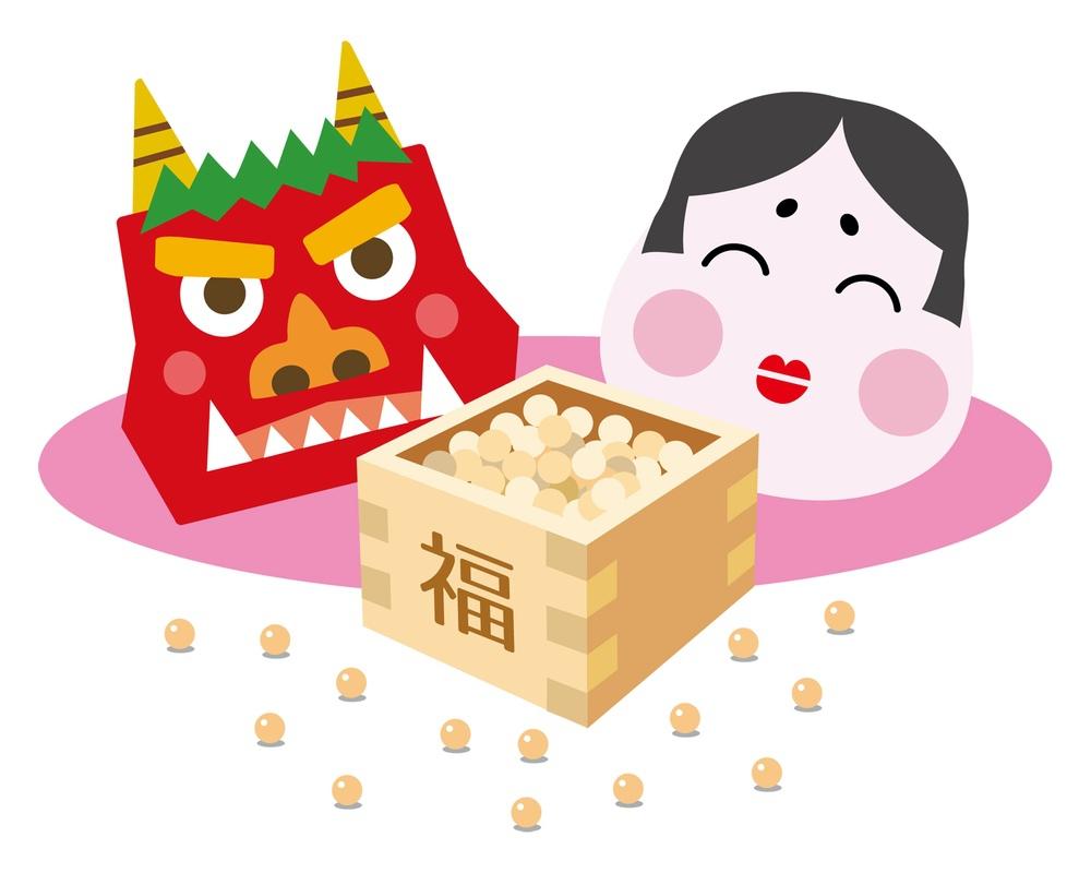 成田山 久留米分院「節分祭」20,000袋の開運福豆まき