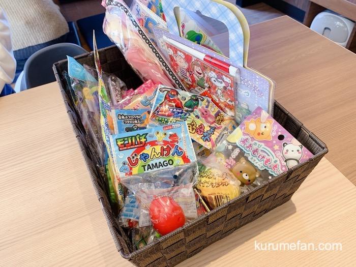 丸源ラーメン 鳥栖店 お子さまラーメンの「選べるおもちゃ」