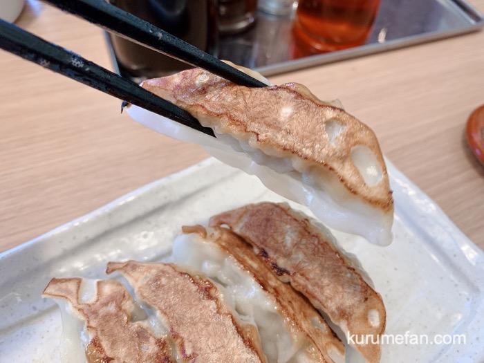 真麺武蔵(TAKEZO)津福店 具がぎっしりとつまった、食べごたえある餃子