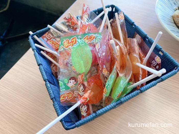 真麺武蔵(TAKEZO)津福店 飴
