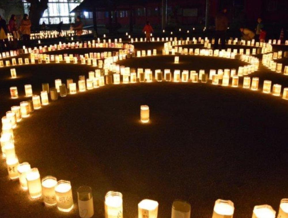 久留米 北野天満宮「千灯明祭」