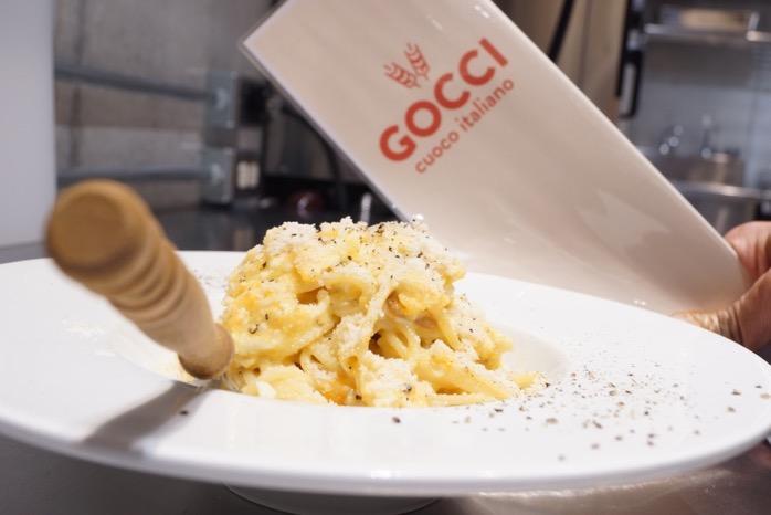 Cuoco italiano GOCCI 目玉焼きのポーヴェラ風