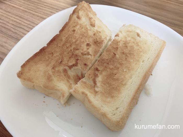 HARE/PAN(ハレパン)トーストして食べました