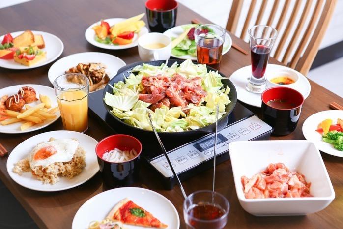 久留米市 鍋焼き&バイキング 頂(いただき)九州では珍しい南部鉄器ジンギスカン鍋で焼く『鍋焼き』&旬の食材をつかったバイキング料理
