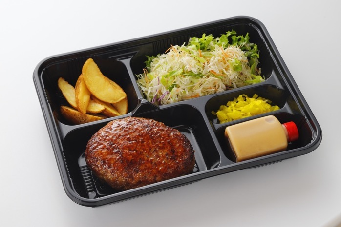 ミスタージョージ ぼくらのお昼ごはん ハンバーグ&サラダ