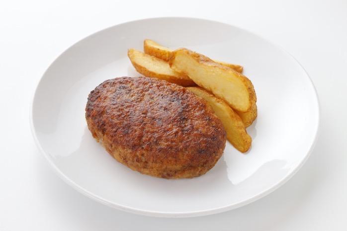 ミスタージョージ ぼくらのお昼ごはん ハンバーグ&ポテト