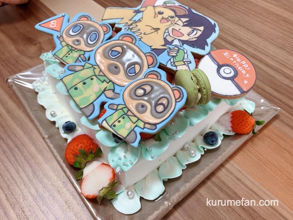 サプライズケーキ工房「アルテレゴキュイジーヌ」オーダーメイド バースデーケーキ ポケモン&どうぶつの森