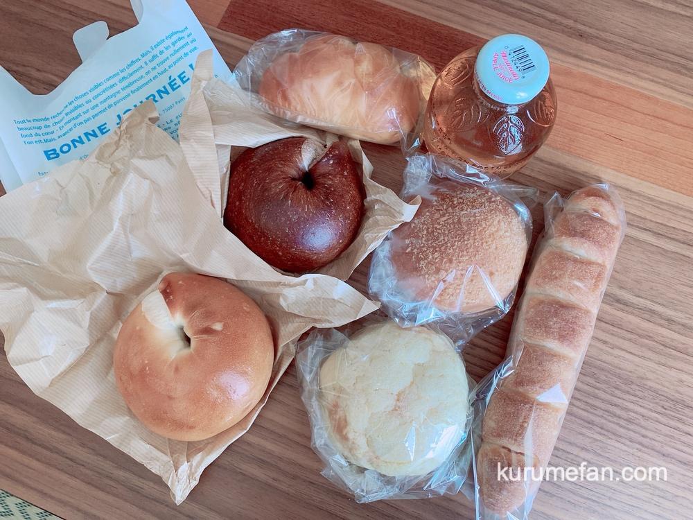 ナナマルベーカリー 色々なパンやベーグルを購入