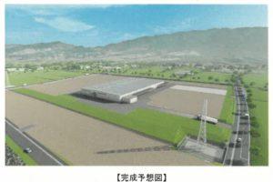 筑水キャニコムが久留米・うきは工業団地に新工場建設 演歌の森うきは