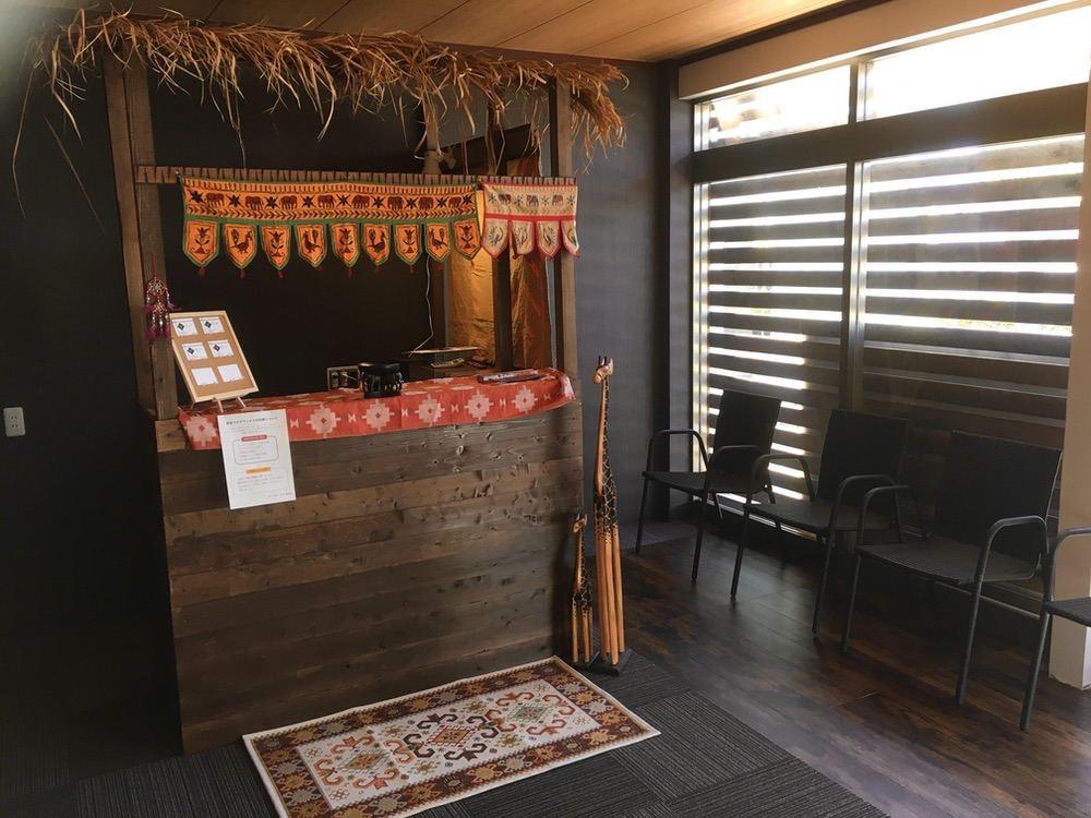 ほぐしサロン フロウ 久留米東合川店 アジアン風の落ち着いた店内で、ゆっくりとリラックスできる