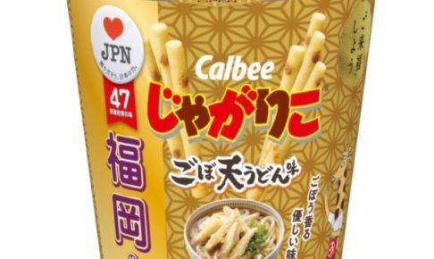47都道府県の地元の味をお菓子で再現 福岡県は「じゃがりこごぼ天うどん味」