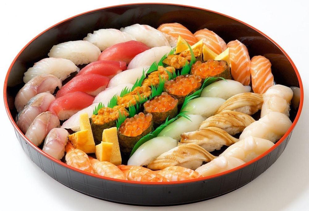 弁当工房みやび 特上握り寿司盛り合わせ