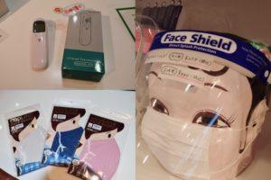 マルヒロ 冷感マスクやフェイスシールド・体温計など新型コロナ感染予防グッズ販売