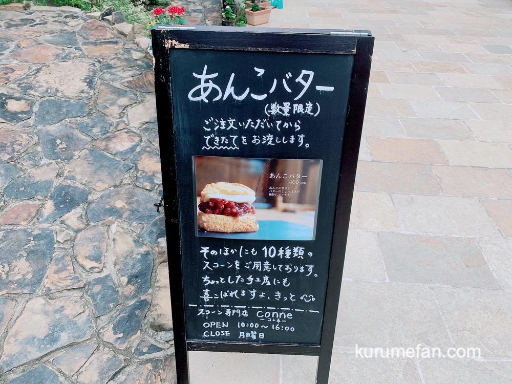 小郡市 スコーン専門店 conne(コンネ)営業時間・定休日