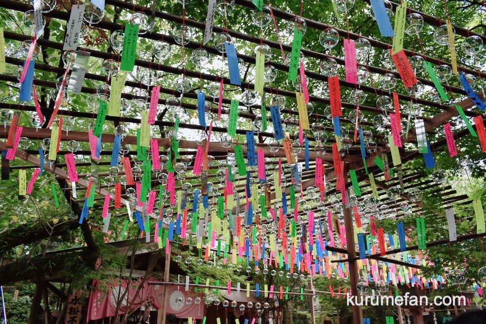 小郡市 如意輪寺(カエル寺)数千個の風鈴の音色