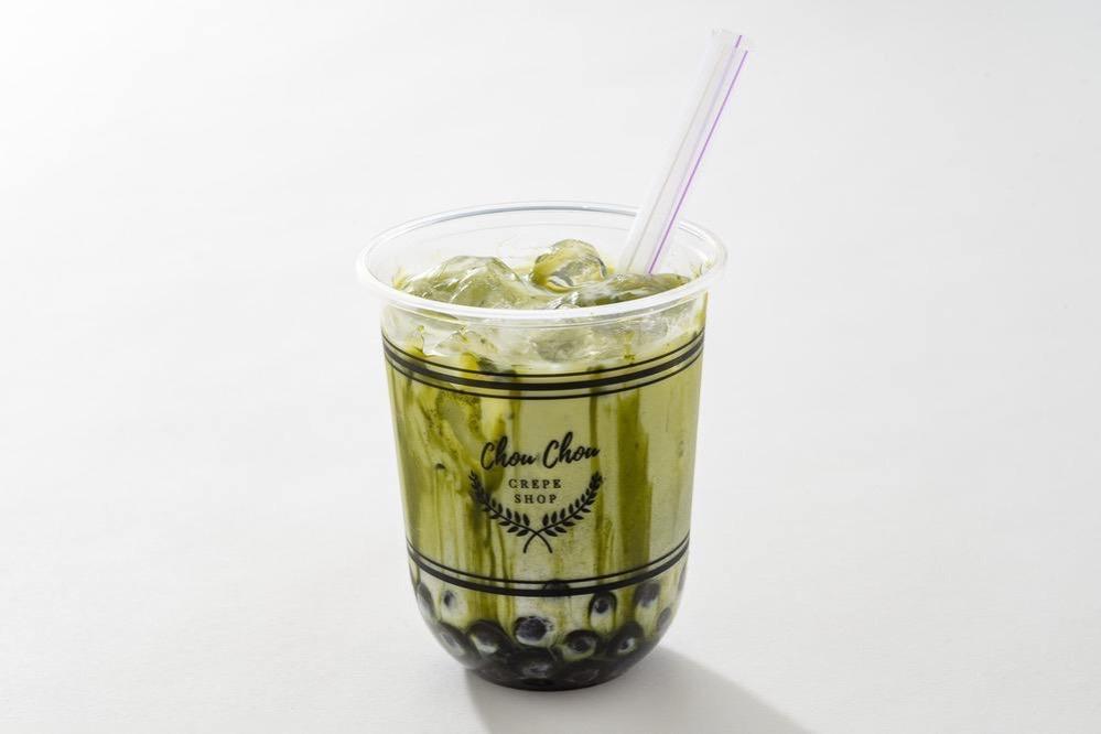 シュシュクレープ花畑店 タピオカドリンク 抹茶