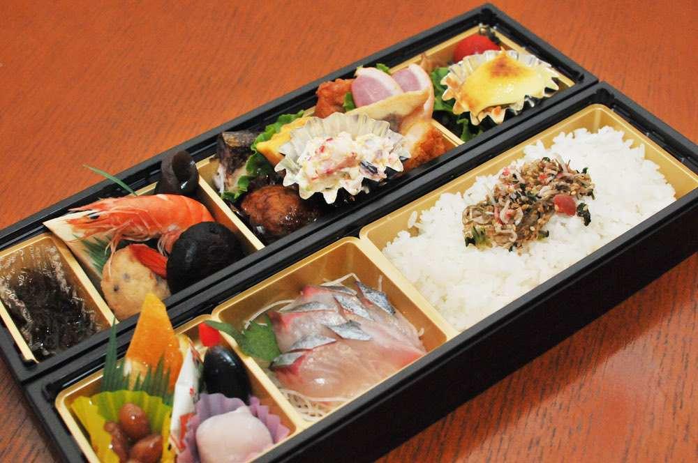 魚政 2段弁当