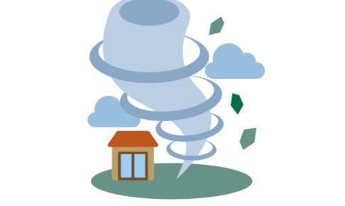 筑後地方に竜巻注意報情報 激しい突風に注意 気象庁発表【8月21日】