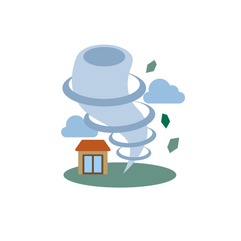 筑後地方に竜巻注意報 激しい突風に注意 気象庁発表【7月9日】