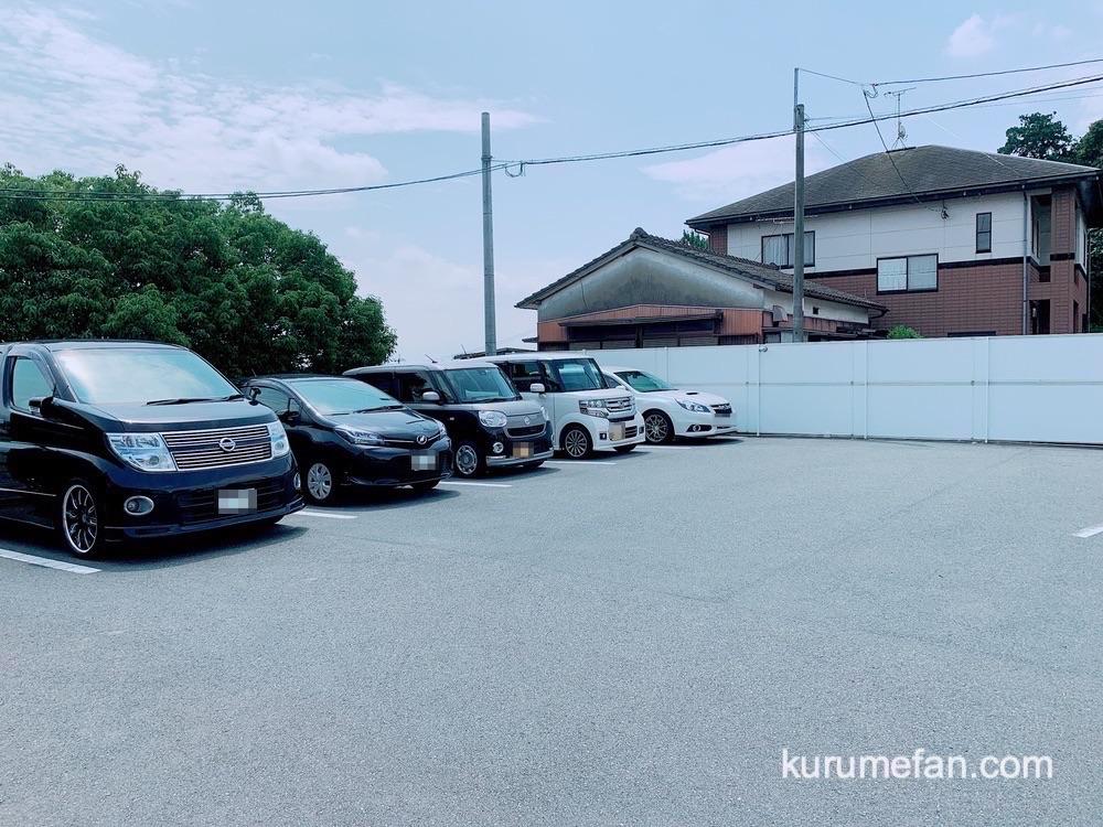 麺屋 我ガ(GAGA)小郡本店 駐車場(小郡市)