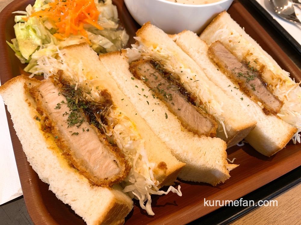 グランママ 久留米にある人気のパン屋でランチ カツサンドが美味しい!