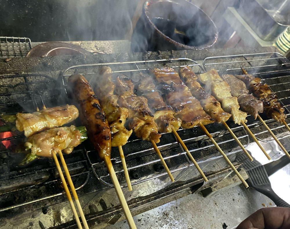 味番屋(あじばんや)久留米市 炭火を使った焼き鳥