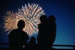 今日、10月24日 19時30分に福岡市で花火打上「希望の花火」ライブ配信も