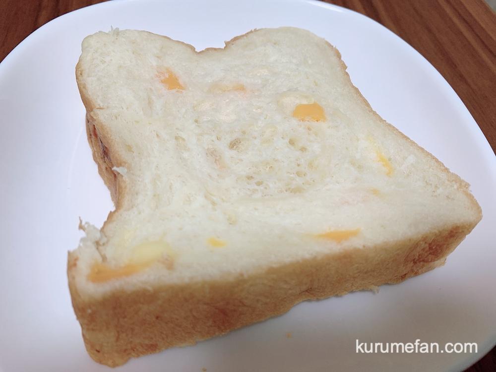 「振り向けばこの顔」久留米市 高級食パン 贅沢なフロマージュ(チーズ)美味しい